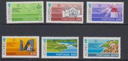 Azores 1980 Tourism 6v ** Mnh (43269I) - Azoren