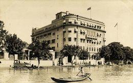 China, HONG KONG, Unknown Building With British Flag (1910s) RPPC Postcard - China (Hong Kong)