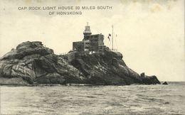 China, HONG KONG, Cap Rock Lighthouse (1910s) Postcard - China (Hong Kong)