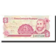 Billet, Nicaragua, 5 Centavos, Undated (1991), Undated (1991), KM:168a, NEUF - Nicaragua