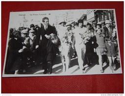 OOSTENDE -   Prins Léopold En Prinses Astrid Te Oostende - Roi Léopold III Et Reine Astrid à Ostende - Familles Royales