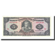 Billet, Équateur, 5 Sucres, 1988, 1988-11-22, KM:113d, NEUF - Ecuador