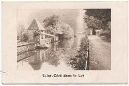 Calandrier 1949 Pub Lyon Tissus Saint Céré Dans Le Lot - Calendriers