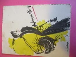 Invitation Présentation Collection BERKERTEX London /Le PRINTEMPS Paris / Dames Et Fillettes /1951         INV16 - Vintage Clothes & Linen