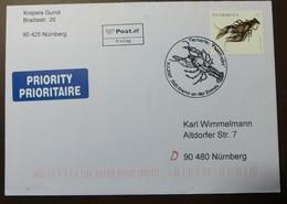 Brief Österreich   2007   Flusskrebs  #cover 4831 - 1945-.... 2. Republik