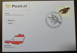Brief Österreich   2007   Flusskrebs  #cover 4832 - 1945-.... 2. Republik