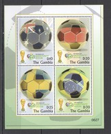 R1367 2006 GAMBIA SPORT FIFA FOOTBALL WORLD CUP GERMANY 1KB MNH - Coppa Del Mondo
