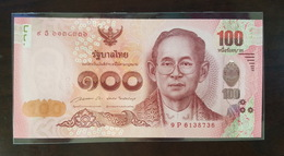 Thailand Banknote 100 Baht P#126 2015 5th Cycle Birthday HRH Princess Maha Chakri Sirindhorn (9P) - Thailand