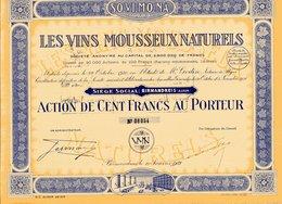 Les VINS MOUSSEUX NATURELS - Agriculture