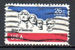 USA. PA 81 Oblitéré De 1974. Mémorial Du Mont Rushmore. - George Washington