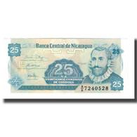 Billet, Nicaragua, 25 Centavos, Undated (1991), Undated (1991), KM:170a, NEUF - Nicaragua