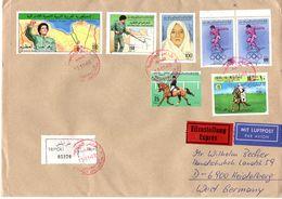 Registered Letter Libya With Rare Color Proof, See Scan, Lot 51345 - Libya