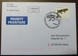 Brief Österreich   2007   Feuersalamander  #cover 4833 - 1945-.... 2. Republik