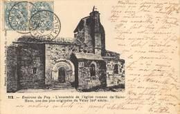 CPA 42 ENVIRONS DU PUY L ENSEMBLE DE L EGLISE DE SAINT HAON - Le Puy En Velay