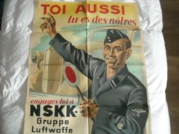 Propagande Allemande ' Toi Aussi Tu Es Des Nôtres ' - 1939-45