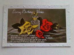"""Birthday  Postcard -  """" Loving Birthday Wishes"""" - Birthday"""