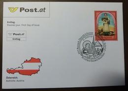 Brief Österreich   2008   Notburga  FDC  #cover 4837 - 1945-.... 2. Republik