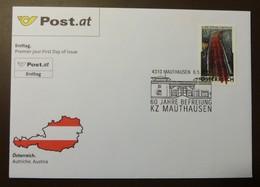 Brief Österreich   2005   KZ Mauthausen FDC  #cover 4838 - 1945-.... 2. Republik