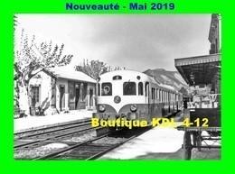 AL 575 - Autorail Decauville XDC 2002 En Gare - DIE - Drôme - SNCF - Trains