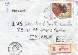 Madagascar 1990 Tananarive Russian French Revolution Registered Cover - Révolution Française
