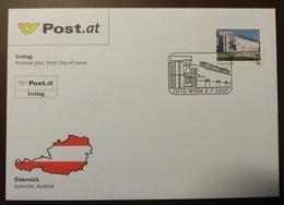 Brief Österreich   2007  ESSL Museum    FDC  #cover 4841 - 1945-.... 2. Republik