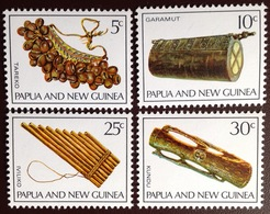 Papua New Guinea 1969 Musical Instruments MNH - Papouasie-Nouvelle-Guinée
