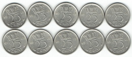 The Netherlands 1948, 25 Cents - [ 3] 1815-… : Koninkrijk Der Nederlanden