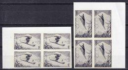 FRANCE - Cliché Photographique D'époque De 2 Essais Non Adoptés Pour Les Championnats Internationaux De Chamonix En 1937 - Proofs