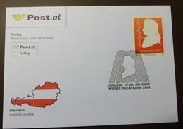 Brief Österreich   2006  Mozart    FDC  #cover 4842 - 1945-.... 2. Republik