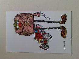 "Kardorama  Postcard -  "" Car Mechanic ""  Design K32 - Humour"