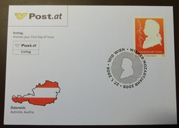 Brief Österreich   2006  Mozart    FDC  #cover 4843 - 1945-.... 2. Republik
