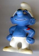 Figurine Vintage SCHTROUMPF COSTAUD © 1994 PEYO SCHLEICH GERMANY CE - Schtroumpfs