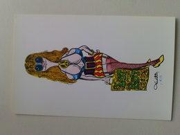 "Kardorama  Postcard -  "" Lust Or Bust  ""  Design K15 - Humour"