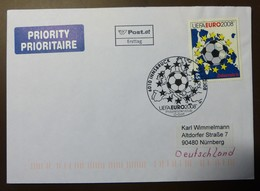 Brief Österreich   2008   Fußball UEFA  FDC  #cover 4845 - 1945-.... 2. Republik