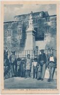 Cpa Corse Montemaggiore Le Monument Aux Morts Guerre 1914-1918 Animée - Other Municipalities