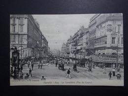 Carte Postale  - MARSEILLE (13) - La Cannebiere (vue Du Cours) - 1904 (1764/1000) - The Canebière, City Centre