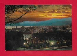 CARTOLINA VG ITALIA - BORDIGHERA (IM) - Notturno - 10 X 15 - ANN. 1976 - Imperia