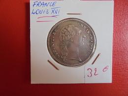 LOUIS XVI TRES BEAU BUSTE D'ARGENT  (A.7) - Royaux / De Noblesse
