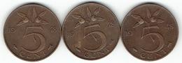 The Netherlands 1948, 5 Cents - [ 3] 1815-… : Koninkrijk Der Nederlanden