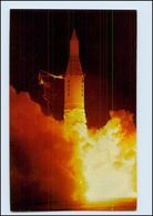 W8Q39/ Raumfahrt  Juno II, With Pioneer IV  NASA AK Rakete - Postcards