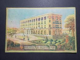 Carte Postale  - AIX EN PROVENCE (13) - Hôtel Du Roy René  - 1934 (1765/1000) - Aix En Provence