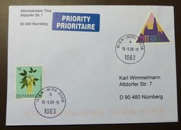 Brief Österreich   2008  WIPA    FDC  #cover 4851 - 1945-.... 2. Republik