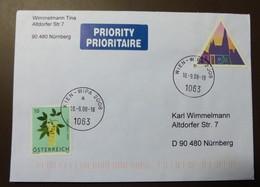 Brief Österreich   2008  WIPA    FDC  #cover 4852 - 1945-.... 2. Republik