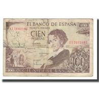 Billet, Espagne, 100 Pesetas, 1965, 1965-11-19, KM:150, B - [ 3] 1936-1975 : Regime Di Franco