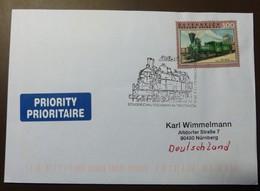 Brief Österreich   2010  Eisenbahn Südbahn Reihe 671 Triestingtal  #cover 4854 - 1945-.... 2. Republik
