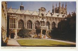 Oxforshire -      Oxford  -  Oriel College; Front Quadrangle - Oxford