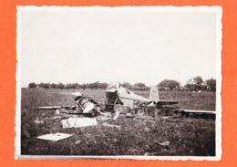 MON093 Rare Camp Aviation EL AOUINA 5 Mai 1936 Accident CAUDRON AIGLON Pilote Et Passager Morts Sur  Le Coup Photo 11x8 - Accidents