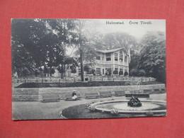 Halmstad Ovre Tivoli Sweden- Has Stamp & Cancel    Ref 3425 - Sweden
