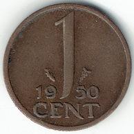 The Netherlands 1950, 1 Cent - [ 3] 1815-… : Koninkrijk Der Nederlanden