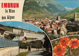 Cp , 05 , EMBRUN, Alt. 870 M. , La Nice Des Alpes , Multi-Vues - Embrun
